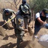 Incautan 998 kilogramos de cocaína enterrados en la Alta Guajira