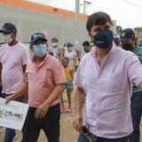 Alcaldía informó que el barrio La Paz quedará 100 % pavimentado