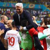 """Petkovic destaca el """"fantástico trabajo"""" de Suiza y aspira a pasar de cuartos"""