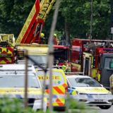 Fuerte explosión e incendio en una estación de tren de Londres
