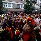 Bélgica está preocupada por las celebraciones de sus hinchas en tiempos de covid-19