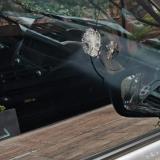 Atacan a piedras camioneta en la cual se movilizaba la mintransporte