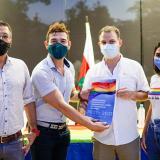 Entregan política pública de los sectores LGBTIQ+  en Sincelejo