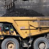 Producción de carbón fue de 13,9 millones de toneladas en el primer trimestre