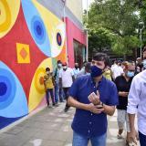 Inauguran la Esquina del Arte en el Paseo Bolívar