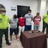 Policía captura a 'los Rancheros' por homicidio y tráfico de armas