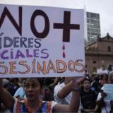 ONU ha documentado 49 homicidios a líderes en los últimos tres meses