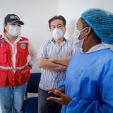 Minsalud en inicio de aplicación de dosis única en zona insular de Cartagena