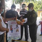 Policía del Atlántico realiza campaña contra el hurto de celulares en Baranoa