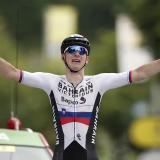 Matej Mahoric ganó la séptima etapa del Tour de Francia