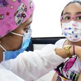 Atlántico participa de jornada contra sarampión y la rubéola