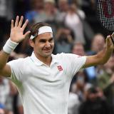 Roger Federer, el mayor en los cuartos de final de Wimbledon