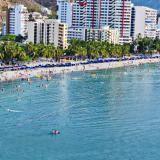 Entre el 2 y el 5 de julio 39.000 turistas visitaron a Santa Marta