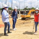 Nuevo hospital de Soledad muestra avances del 40% en solo dos meses: Noguera