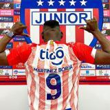 """""""Estoy feliz de estar en Junior"""": Cristian Martínez Borja"""