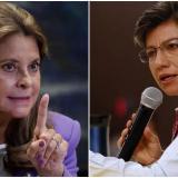 Vicepresidenta envía dura carta a Claudia López por recomendaciones de CIDH