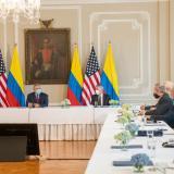 Presidente Duque se reunió con delegados del gobierno Biden