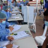 Agredido director científico del hospital de Piojó por vacunas