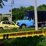 Taxista pierde la vida en grave accidente en Puerto Colombia