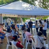 En Barranquilla, 'Sisbén a tu barrio' en el año 2021 atendió a 3.000 hogares