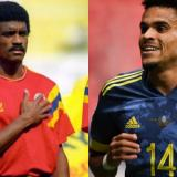 Las coincidencias de dos goleadores guajiros en la selección colombiana