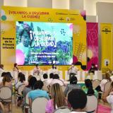 Cuidado del medio ambiente, eje de panel para los niños