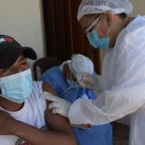Piojó cumplió la meta de vacunar el 70% de su población