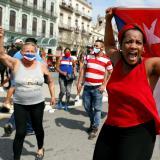 Un muerto en las protestas antigubernamentales en Cuba