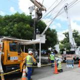 Adecuación de redes eléctricas en cuatro barrios Barranquilla este miércoles