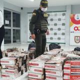 Hallan cargamento de cigarrillos entre los escombros del incendio en Montería