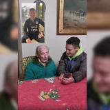Conmovedor mensaje de Messi a hombre de 100 años que anota todos sus goles a mano