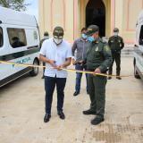 Entregan patrullas para control en Malambo