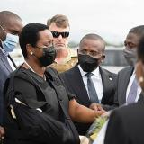 La viuda del presidente Jovenel Moise regresa a Haití