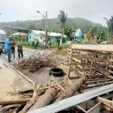 Habitantes de Providencia siguen a la intemperie ocho meses después de Iota