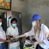 Nu3 reconstruye casa de familia en La Chinita