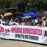 Policía reporta buen comportamiento de manifestaciones en la mañana del 20 de julio