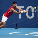 """Será extraño un torneo sin Rafa Nadal o Roger Federer"": Novak Djokovic"