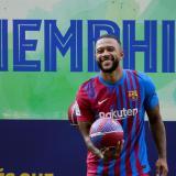 Depay dijo que es un sueño jugar en el Barcelona