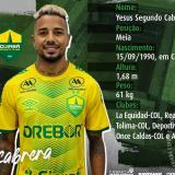 Yesus Cabrera es nuevo jugador del Cuiabá de Brasil
