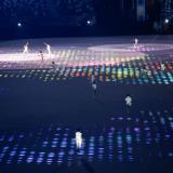 Japón homenajea a su cultura tradicional y pop en la inauguración de los JJOO