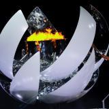 Naomi Osaka encendió el pebetero de los Juegos Olímpicos de Tokio