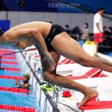 Jorge Murillo, primer nadador colombiano que entrará en acción en Tokio 2020