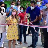 Gobernadora entregó la primera obra terminada de 'Parques para la Gente'