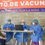 Con 4.800 biológicos Santa Marta reanudó aplicación de primera dosis