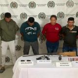 Atrapan presuntos miembros del Clan del Golfo en Guamal, Magdalena