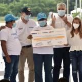 Duque entrega proyectos de vivienda y saneamiento básico en Atlántico