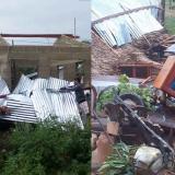 Vendaval causó daños en siete municipios de Sucre