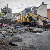 Nuevas tormentas en Bélgica dejan inundaciones y destrozos, pero no víctimas