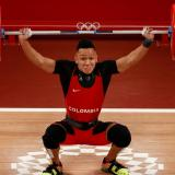 Luis Javier Mosquera obtiene la primera medalla para Colombia en Tokio 2020