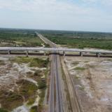 Invías terminó puente férreo de 508 metros en la variante de Ciénaga